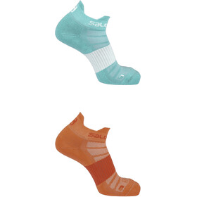 Salomon Sense Socks 2 pack, hibiscus/yucca